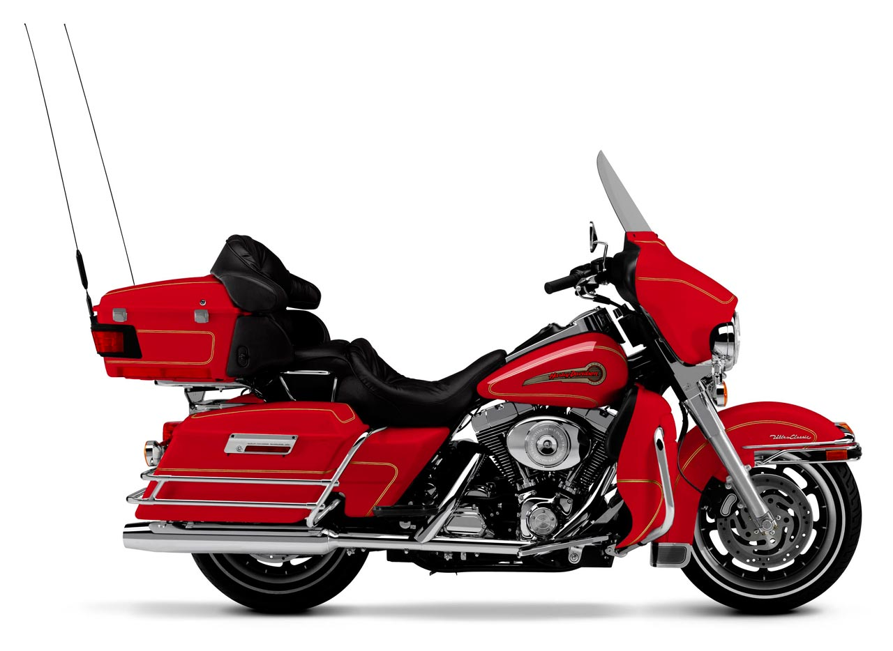 Harley Davidson Firefighter Ultra Classic Electra Glide