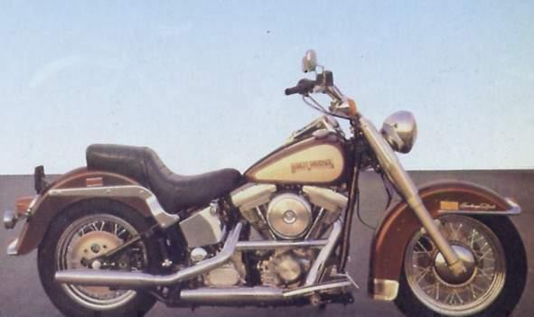 HARLEY DAVIDSON Heritage Softail Clic specs - 1989, 1990 ...