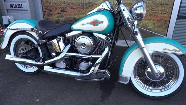 Manual  Harley Davidson Heritage Softail Classic Flstc