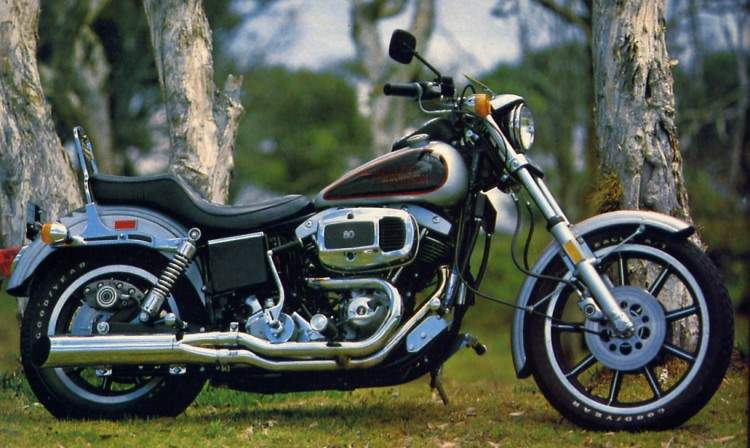 Harley Davidson Dyna Low Rider Anniversary Factory Picture