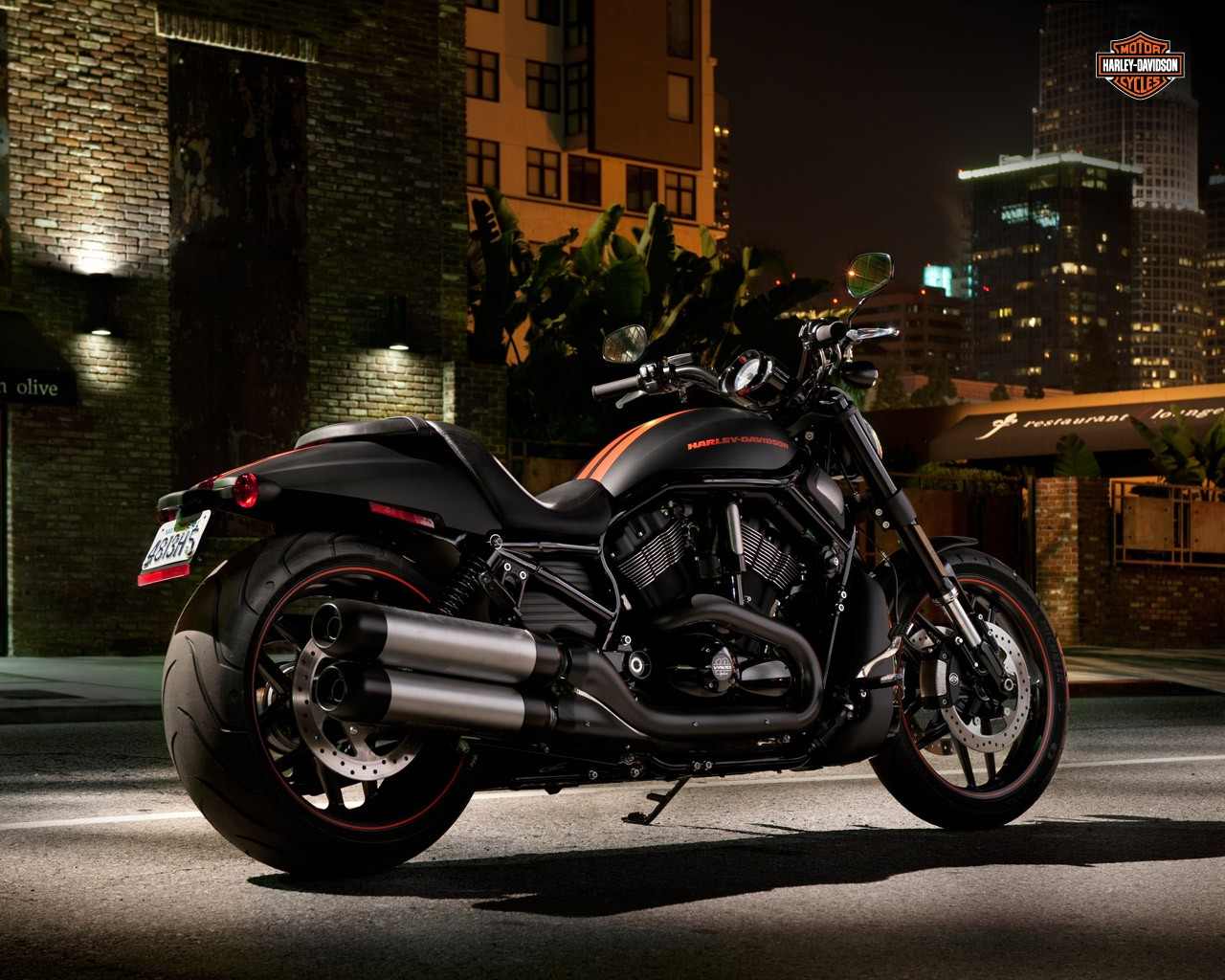 Harley Davidson Night Rod Special on Electric Motorcycle Engine