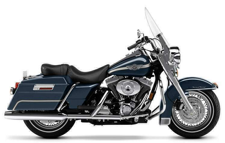 Harley Davidson Road King on Harley Davidson Twin Cooled Engine