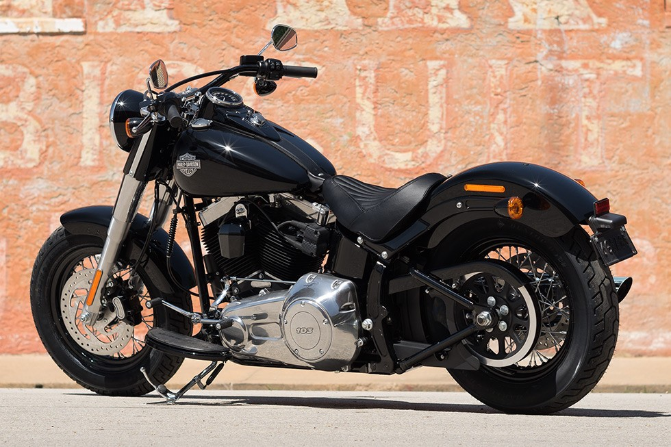 harley davidson softail slim 2015 2016 autoevolution. Black Bedroom Furniture Sets. Home Design Ideas
