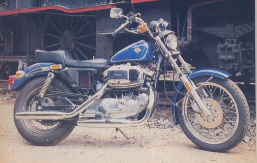 Harley Davidson Sportster on 1980 Ironhead Sportster