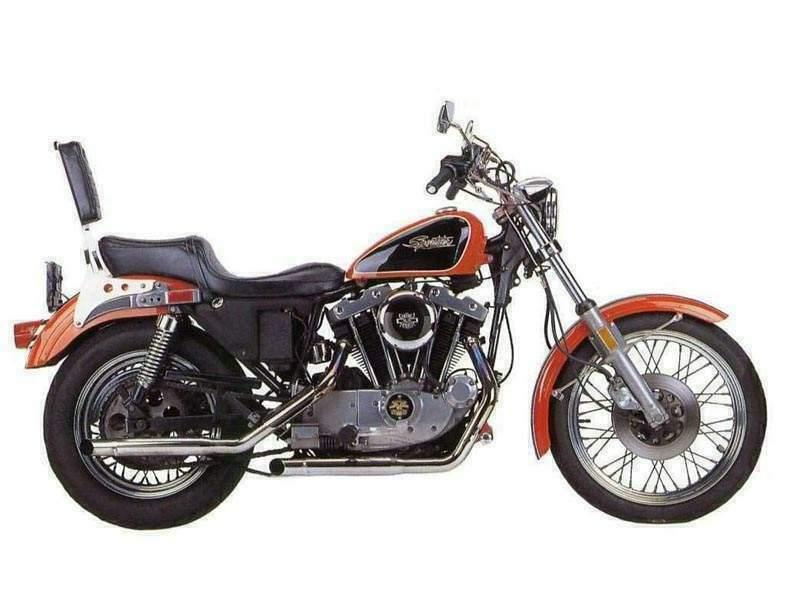Harley Davidson Sportster 1000 Specs 1984 1985