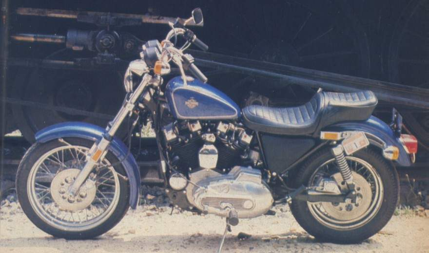 Harley Davidson Sportster on 1984 Ironhead Sportster
