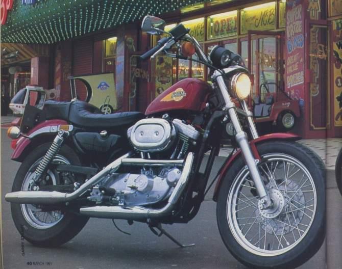 HARLEY DAVIDSON Sportster 1200 specs - 1988, 1989, 1990