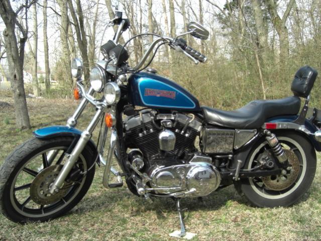 Harley Davidson Sportster 1200 Specs 1988 1989 1990 border=