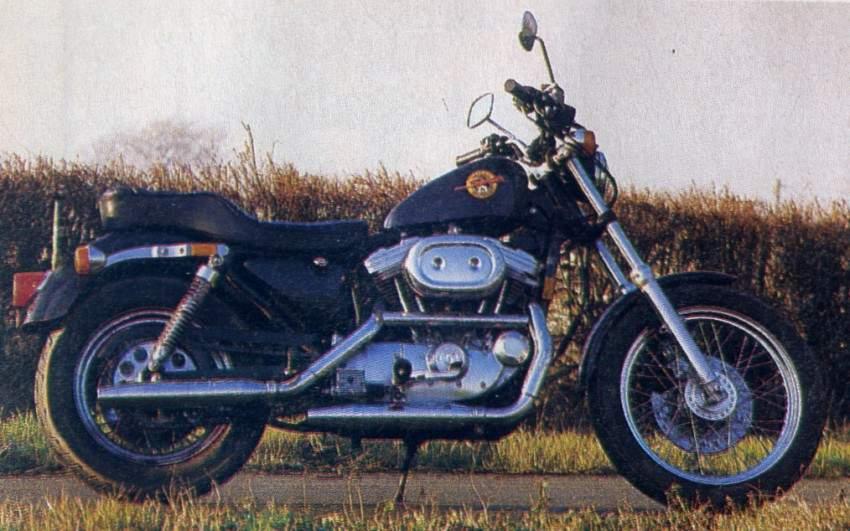 HARLEY DAVIDSON Sportster 883 specs - 1994, 1995 - autoevolution