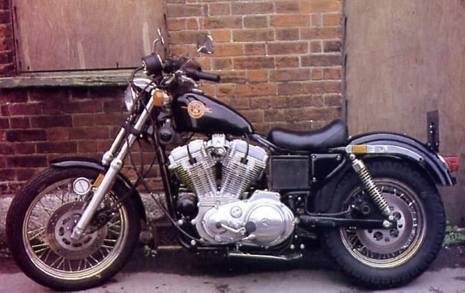 Harley Davidson Sportster 883 Specs 1986 1987