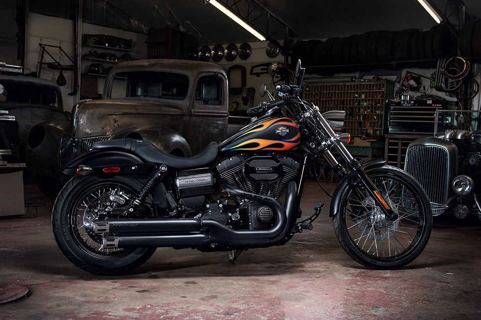 Harley Davidson Dyna Wide Glide Hot Wheels