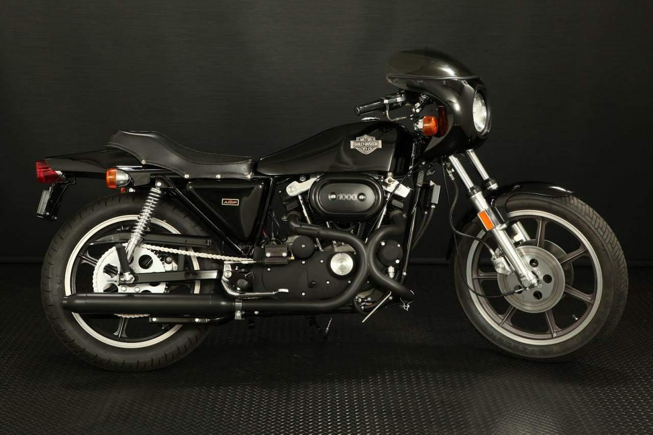 Harley Davidson Forty Eight Cafe Racer