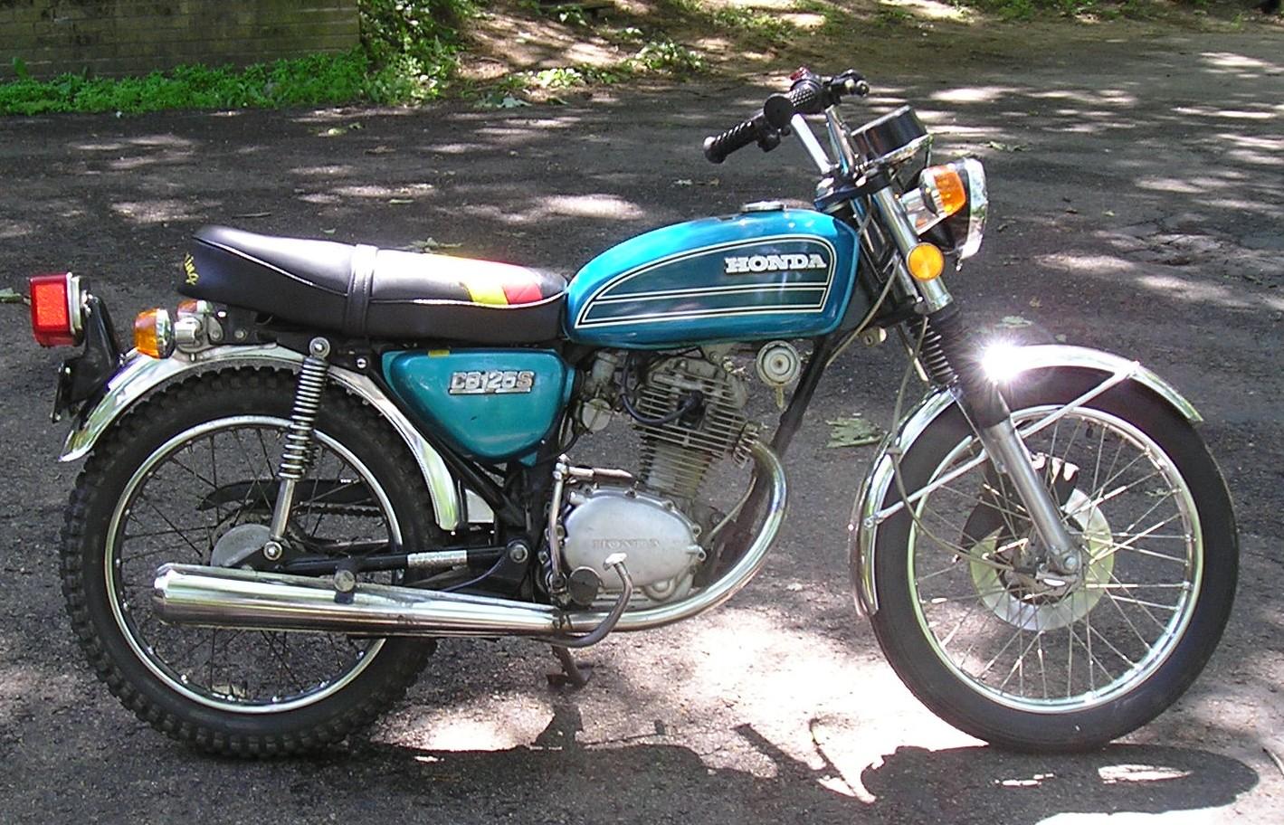 Honda Cb 125 1973 1974 Autoevolution
