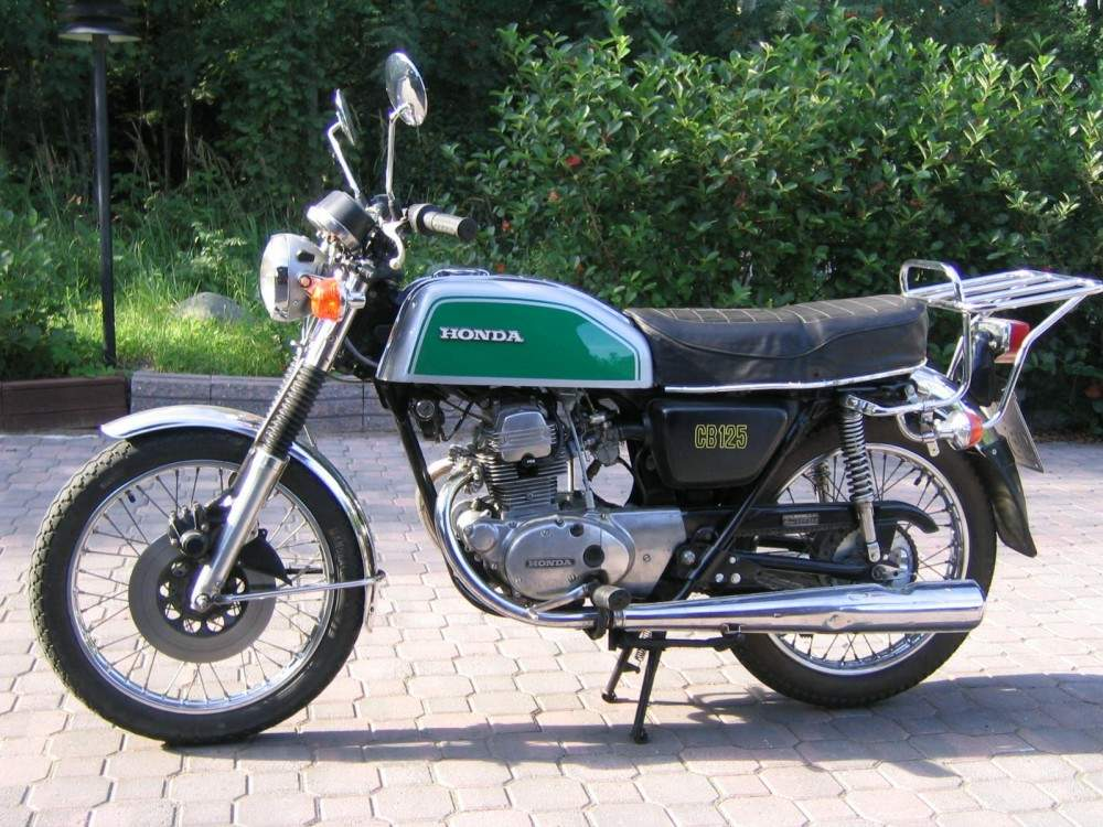 HONDA CB 125 specs - 1978, 1979 - autoevolution