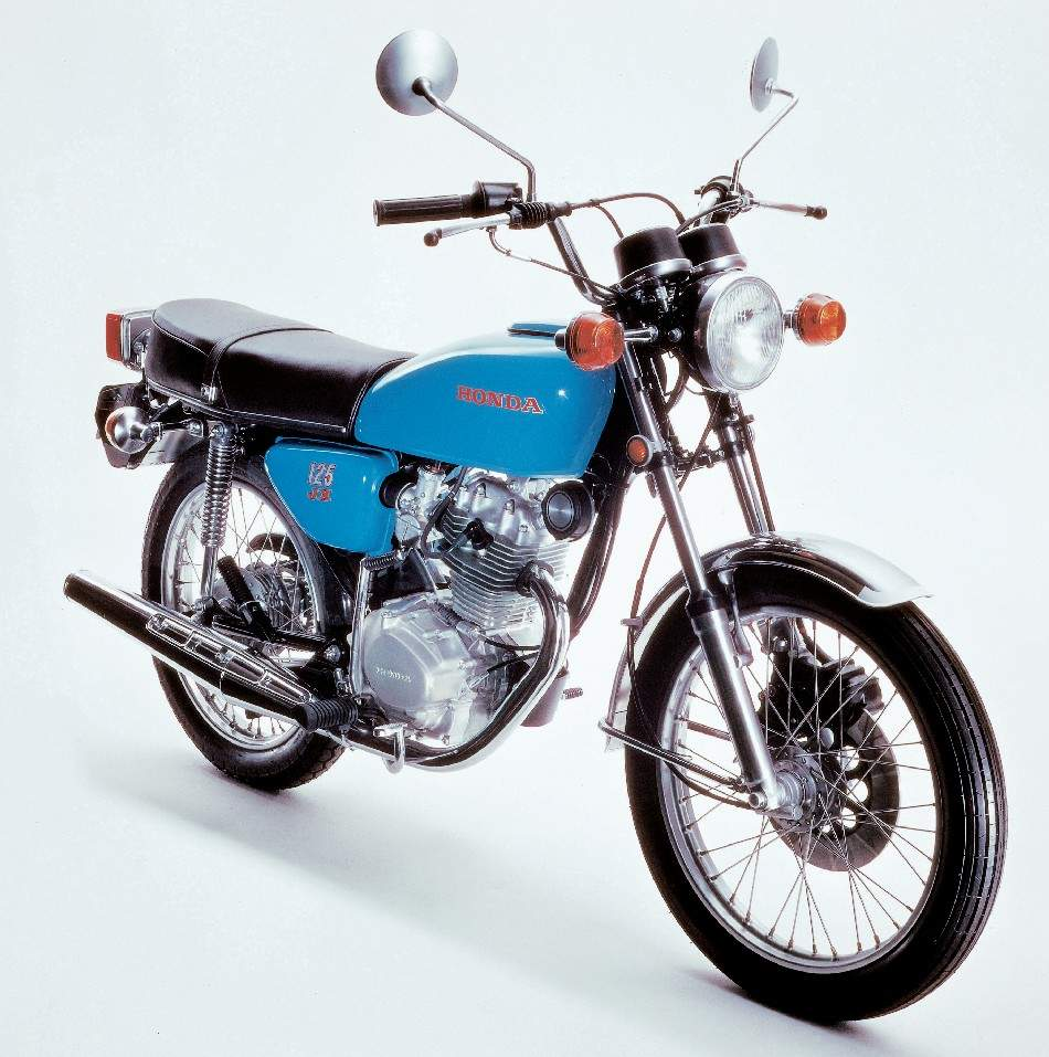 honda cb 125 specs 1980 1981 autoevolution. Black Bedroom Furniture Sets. Home Design Ideas