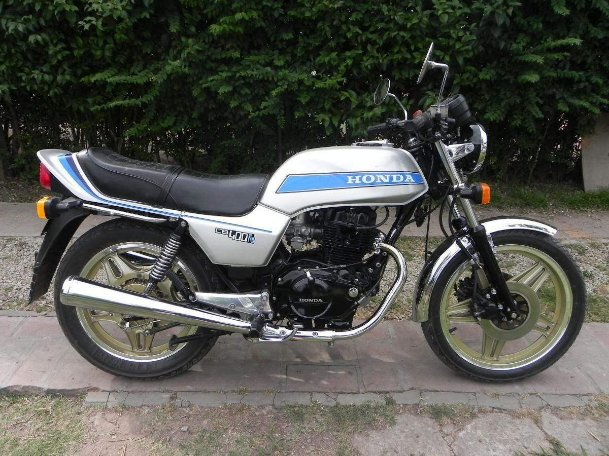 1980 Honda CB400AT Hondamatic Classic Motorcycle Pictures