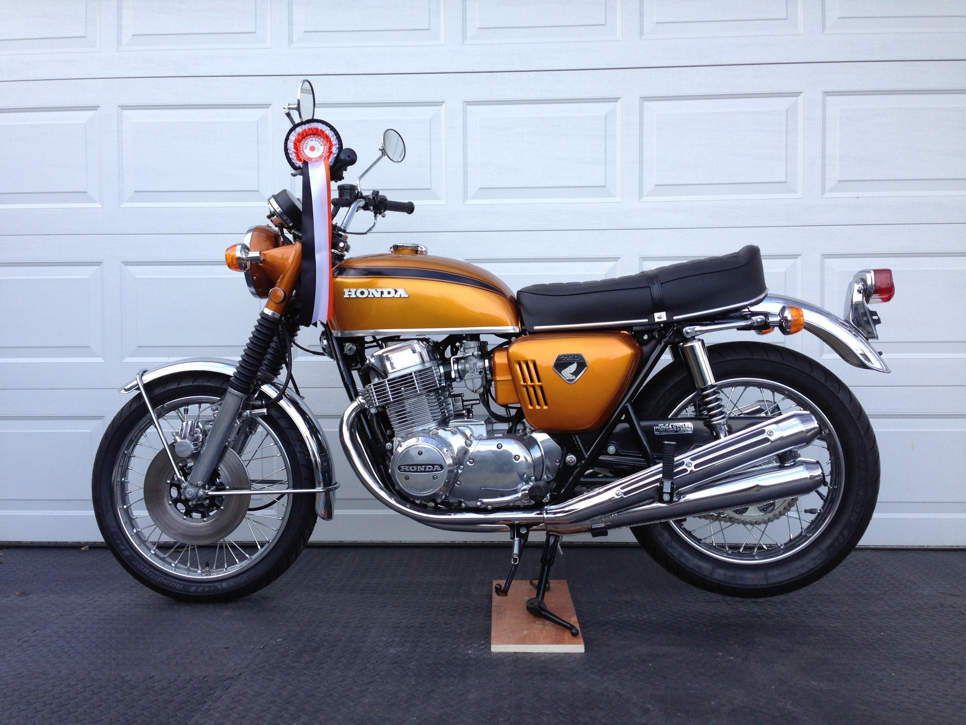 honda cb 750 four k0 1968 1969 autoevolution
