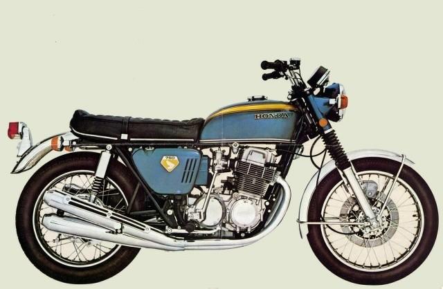 Honda Cb 750 Four K1 Specs - 1970  1971