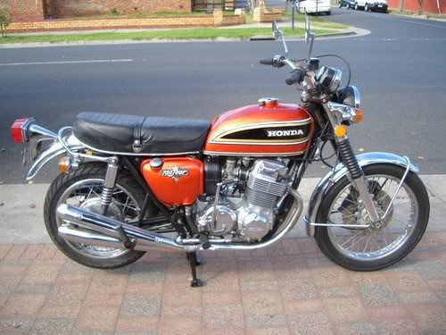 honda cb 750 four k4 specs 1973 1974 autoevolution. Black Bedroom Furniture Sets. Home Design Ideas