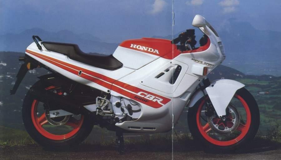 HONDA CBR 600 Hurricane specs - 1987, 1988 - autoevolution