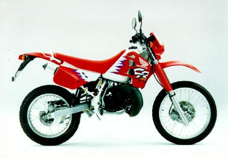 Honda Crm125r Specs 1990 1991 1992 1993 1994 1995
