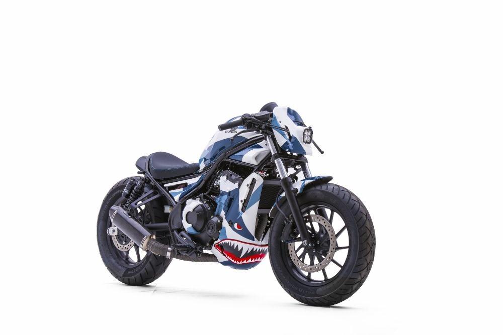 HONDA REBEL 500 specs - 2017, 2018 - autoevolution
