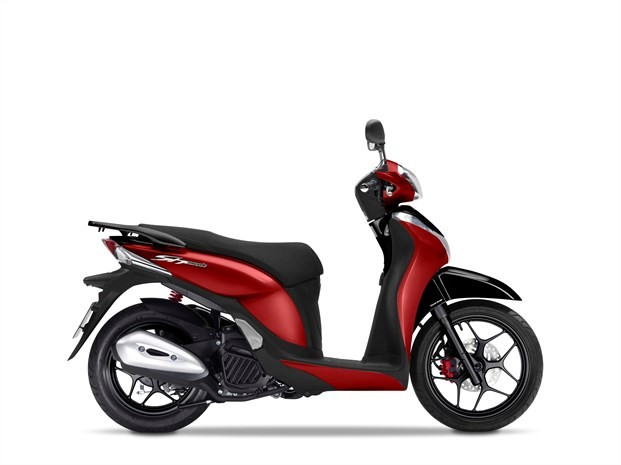 honda sh mode 125 specs 2017 2018 autoevolution. Black Bedroom Furniture Sets. Home Design Ideas