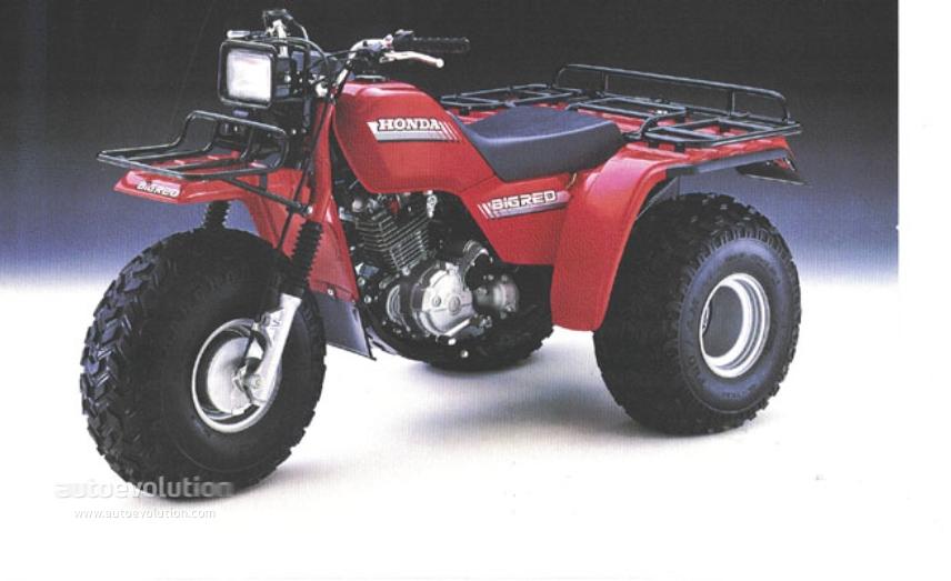 HONDA ATC200E Big Red (1982   1986)