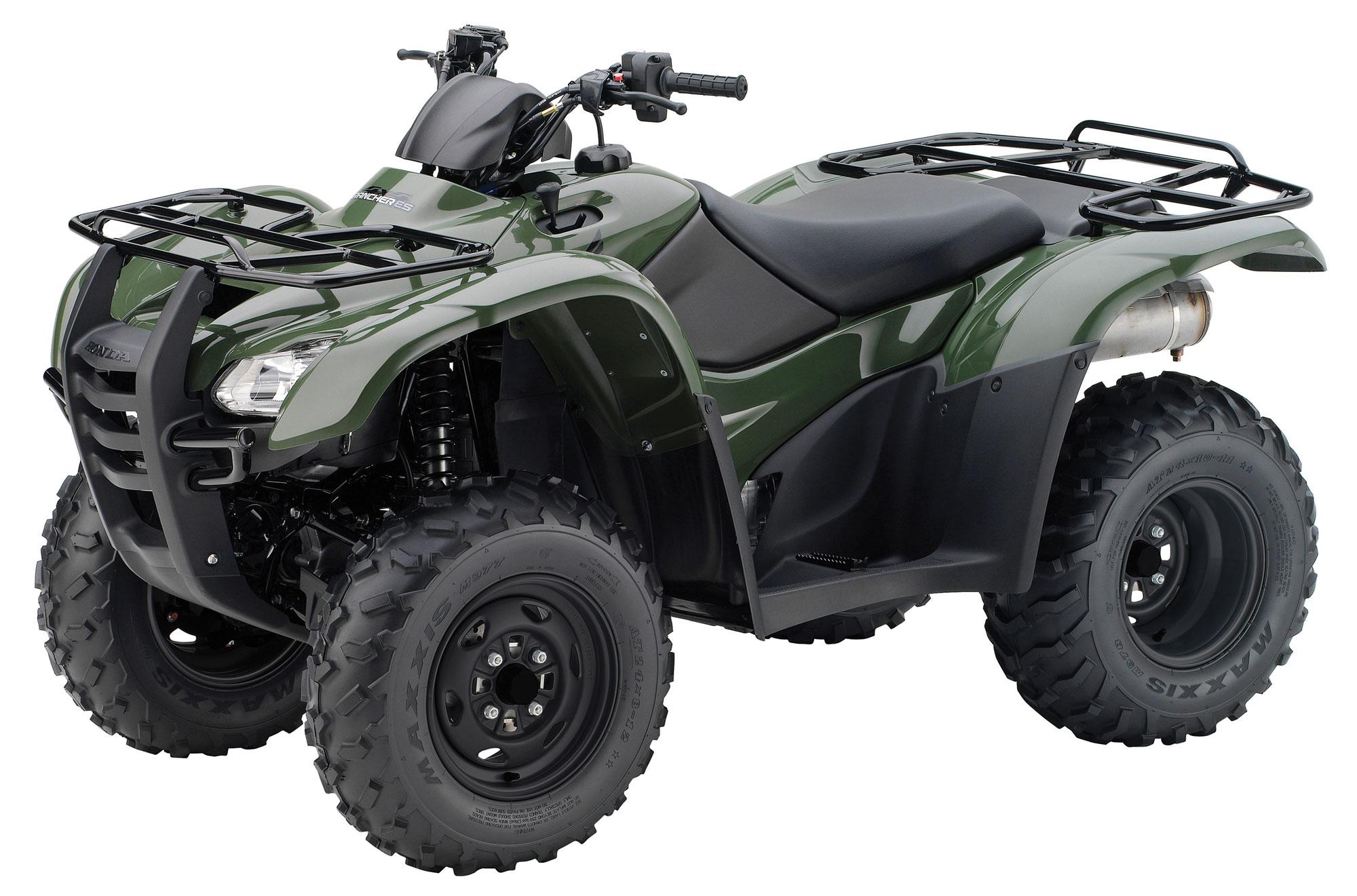 HONDA FourTrax Rancher 4X4 ES TRX420FE specs - 2012, 2013 ...