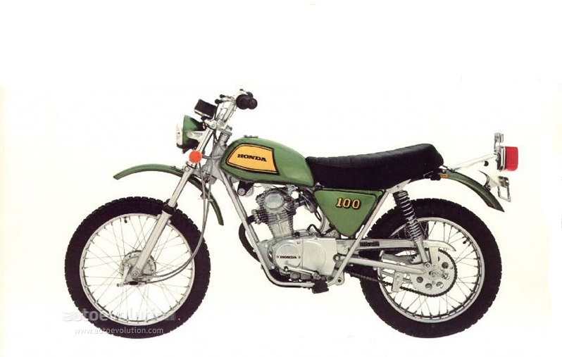 1973 Honda Sl100 Specs