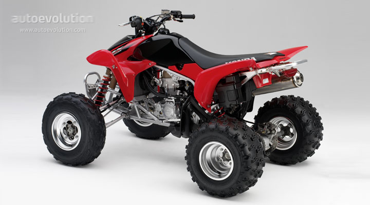 2006 honda trx450r review