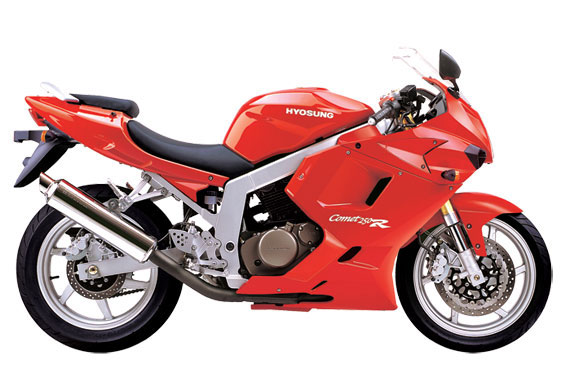 Hyosung Gt250r Service manual