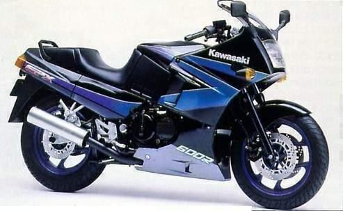 KAWASAKI GPX 600R Ninja (ZX 600R C2) specs - 1987, 1988, 1989
