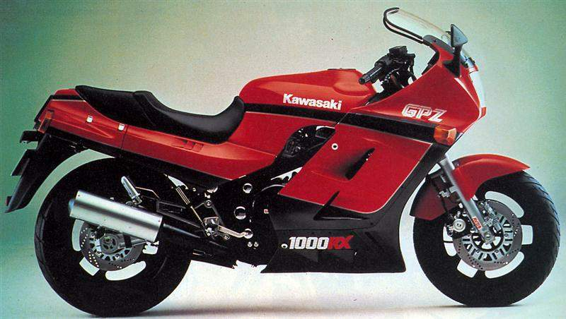 Kawasaki Gpz Rx Exhaust