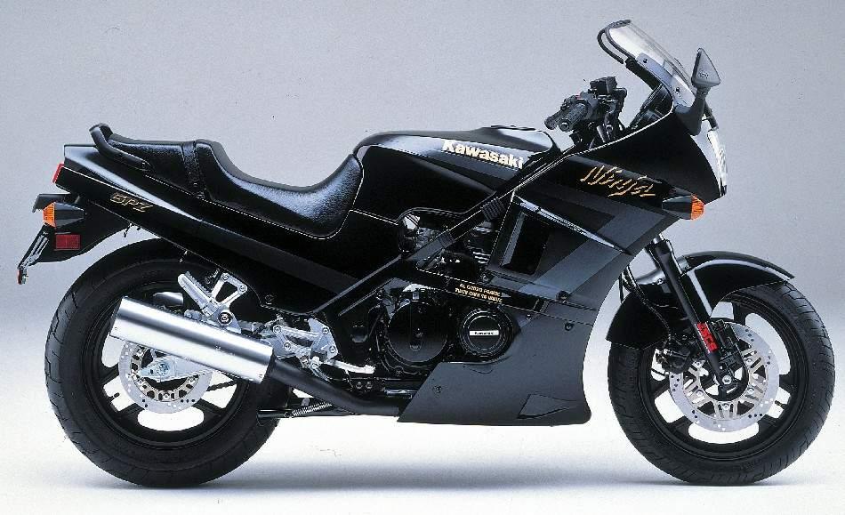 Kawasaki - GPZ 400 FII