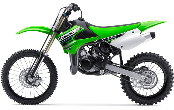 kx100 kawasaki kx motorcycles clutch autoevolution stroke