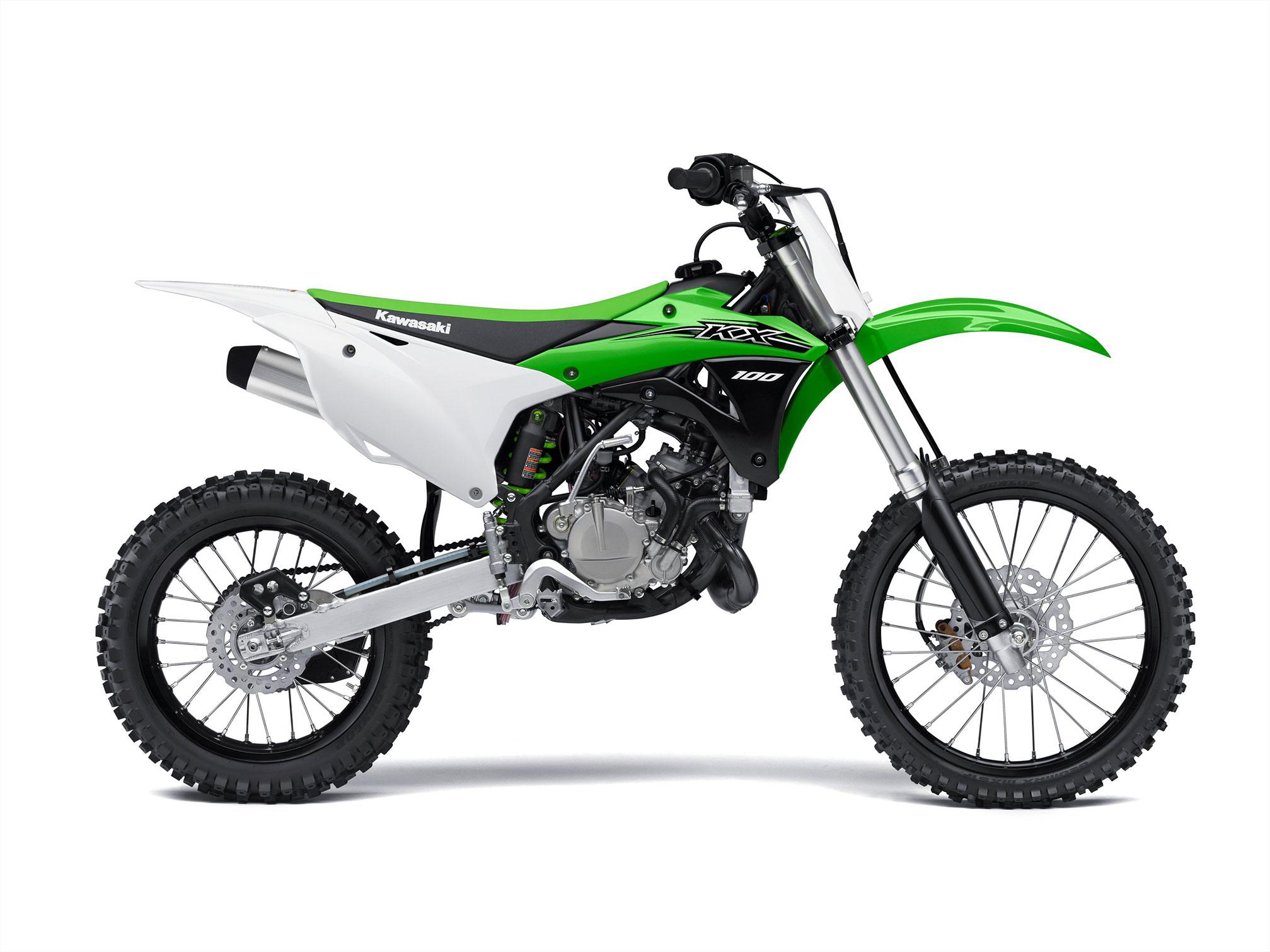 Kawasaki Kx100 - 2014  2015