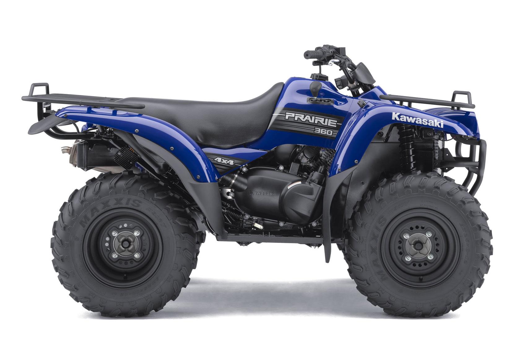 ... KAWASAKI Prairie 360 4x4 (2010 - 2011) ...