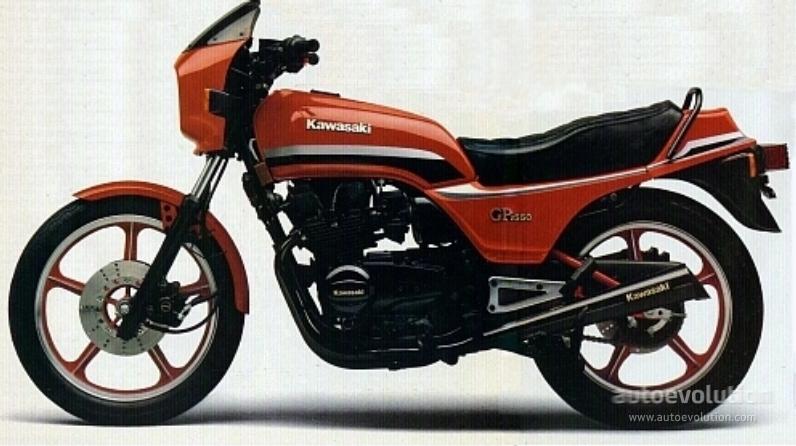 Kawasaki Gpz 550 Specs 1981 1982 Autoevolution