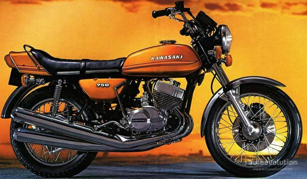 Kawasaki H2 750 Mach Iv Specs 1972 1973 1974 1975 Autoevolution