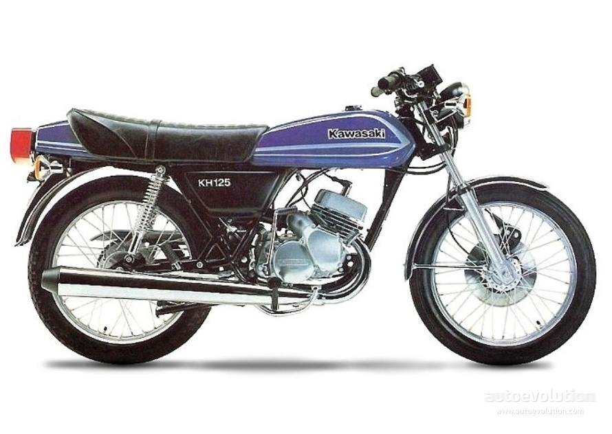 kawasaki kh 125 specs 1978 1979 1980 1981 1982 autoevolution. Black Bedroom Furniture Sets. Home Design Ideas
