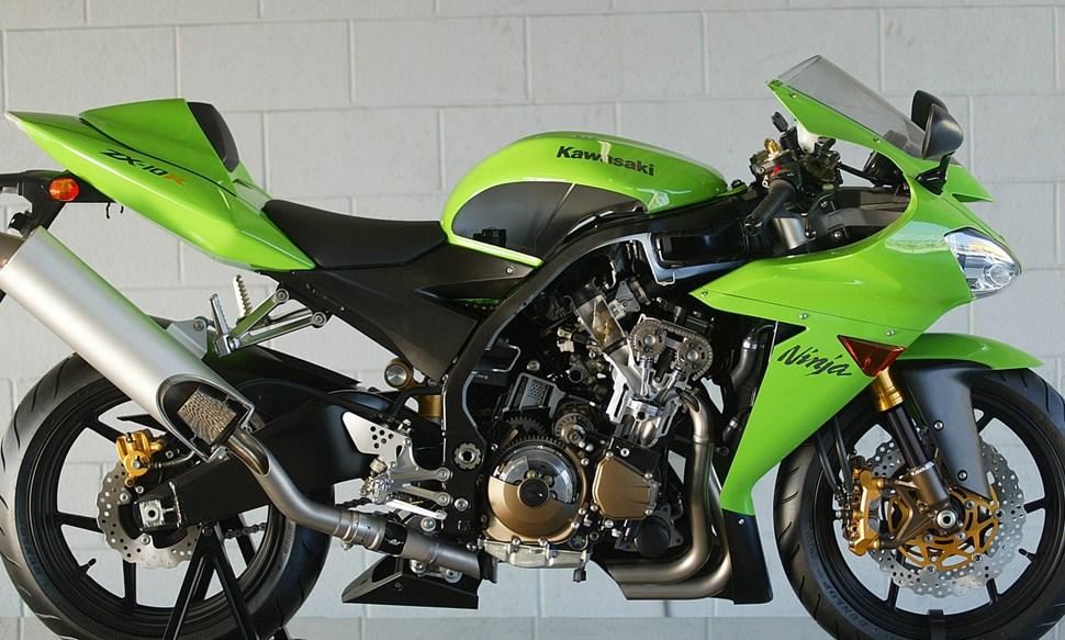 Kawasaki Ninja Zx 10r Specs 2003 2004 Autoevolution