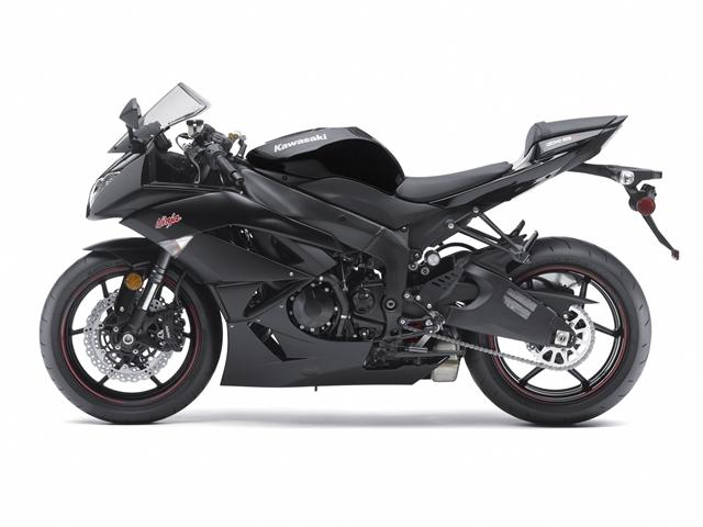 Kawasaki ZX-6R Ninja 2010 decals set (full kit) - black