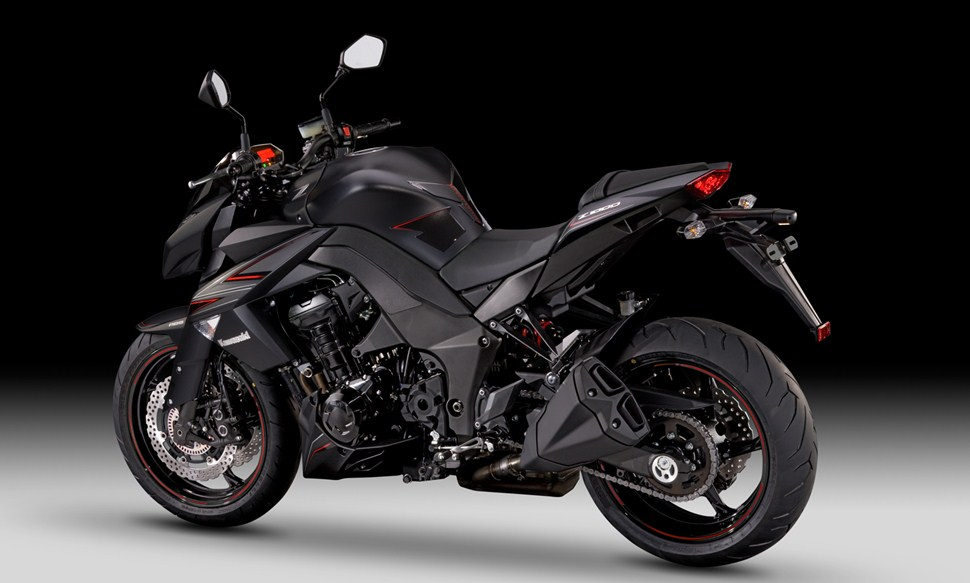 Kawasaki Z1000 Black Edition 2011on Kawasaki Ninja Zx 10r