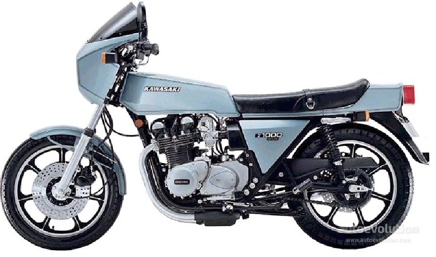 Kawasaki Z1r 1977 1978