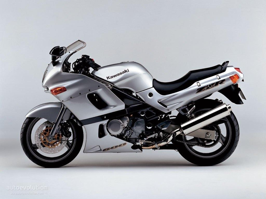 KAWASAKI ZZR 600 - 1993, 1994, 1995, 1996, 1997, 1998 ...