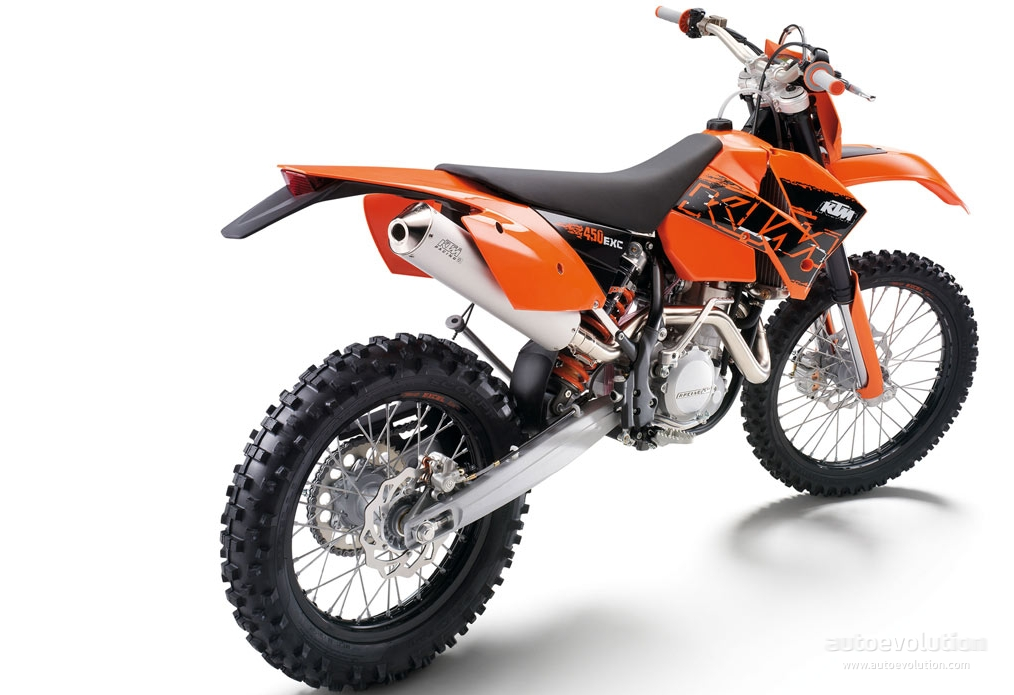 ktm 450 exc racing specs 2005 2006 2007 2008 2009 2010 autoevolution. Black Bedroom Furniture Sets. Home Design Ideas