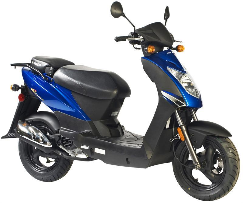 2012 Kymco Agility City 50 4T Review