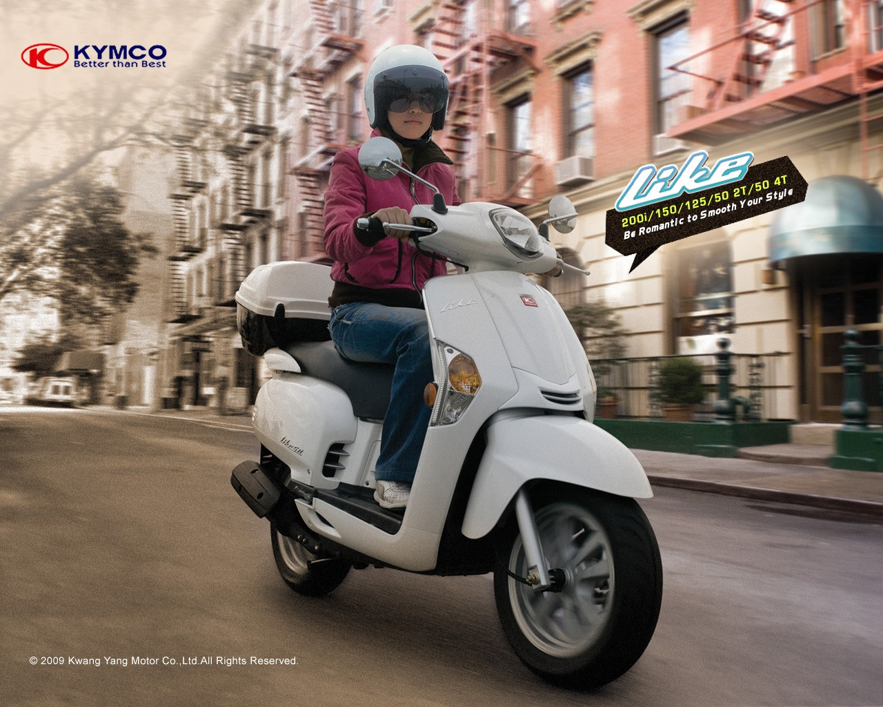kymco like 125 specs 2014 2015 autoevolution. Black Bedroom Furniture Sets. Home Design Ideas