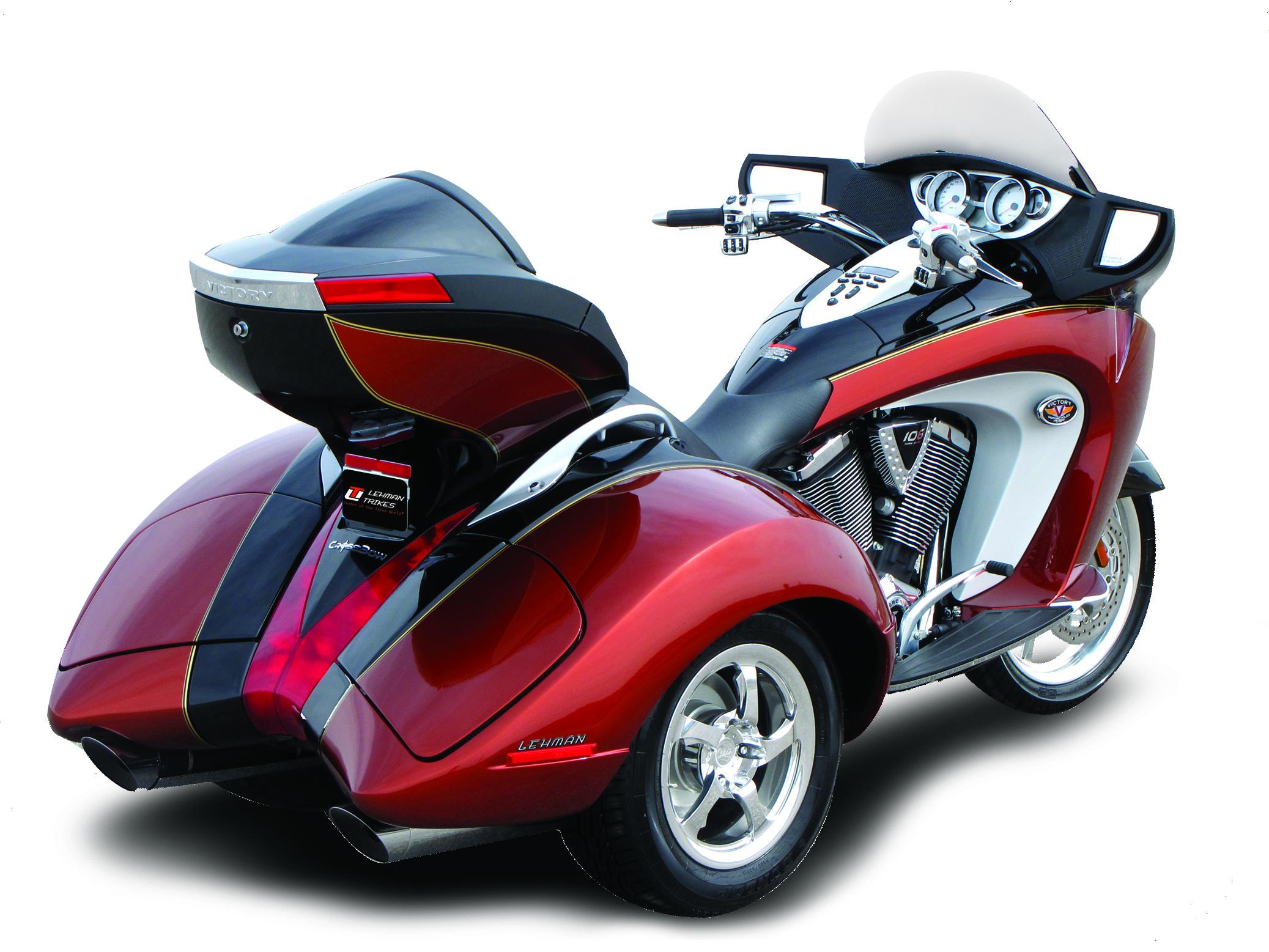 Lehman Trikes Crossbow 2010 Autoevolution